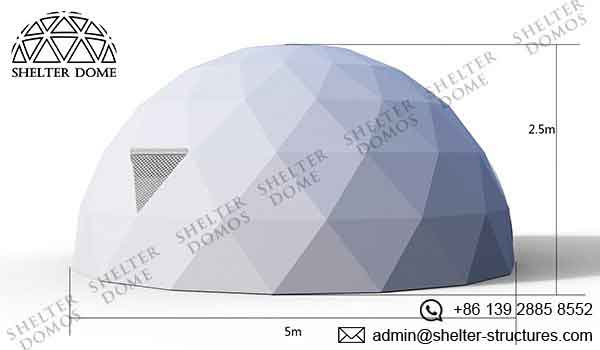 Event Domes - 5m Geodesic Domes for Events - Shelter Dome