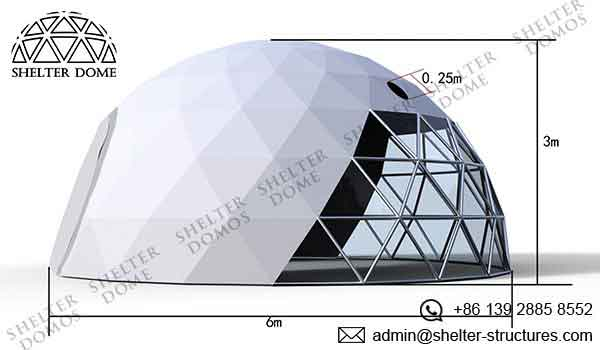 Event Domes - 6m Geodesic Domes for Events - Shelter Dome