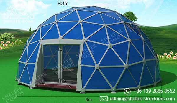 Event Domes - 8m Geodesic Domes for Events - Shelter Dome 2