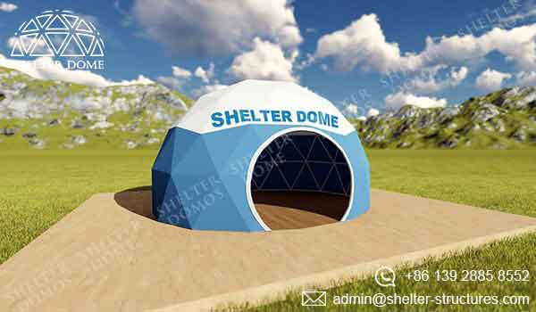 Event Domes - Branding Domes - Shelter Dome 1