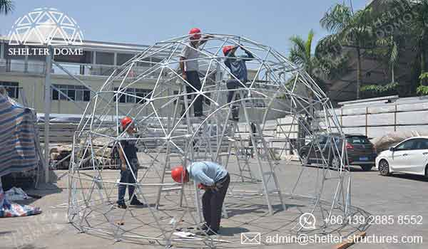 Event Domes - Geodesic Domes for Sale with After-sale Services - Shelter Dome