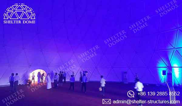 Event Domes - Geodesic Domes with Clearspan Space - Shelter Dome