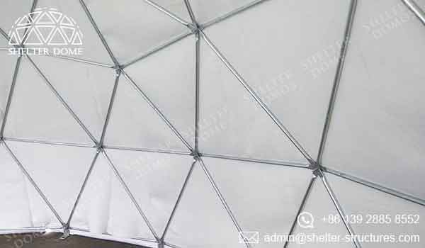 Event Domes - Geodesic Domes with Excellent Sound Effects - Shelter Dome