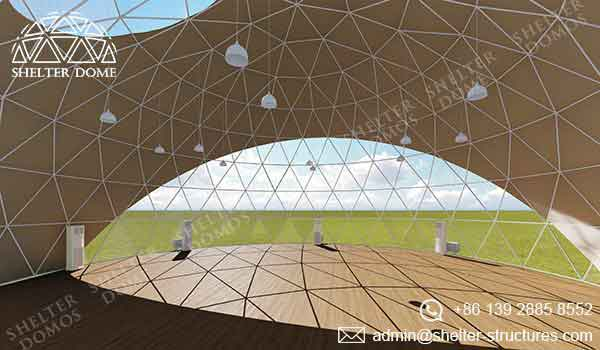 Event Domes - Geodesic Domes with HVAC - Shelter Dome