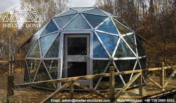 Geodesic Garden Dome - Geodesic Dome - Glass Dome Tent - Polycarbonate Dome - Portable Domes - Glass Igloo - Sphere Tent - Glass Domes for Sale - Shelter Dome (23)