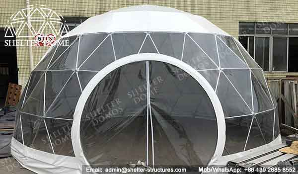 Event Domes - Geodesic Dome - Sphere Tent - Spherical Structure - Fabric Dome Structures - Event Dome Tents for Sale - 5m Dome Tent - Shelter Dome (1)