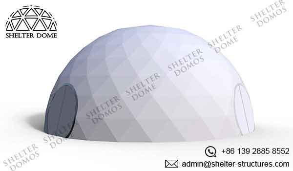 Geodesic Garden Dome - Garden Igloo - Cover with A Full Front - Shelter Dome