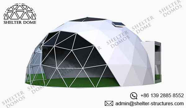Geodesic Garden Dome - Garden Igloo with Steel Structure - Shelter Dome 3