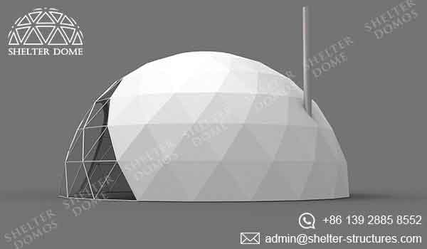 Geodesic Garden Dome - Garden Igloo with Vents - Shelter Dome 1