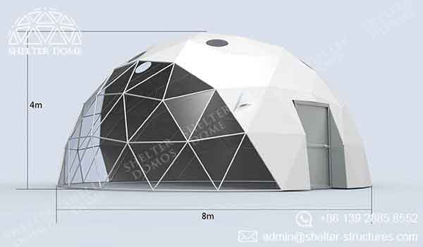 Geodesic Garden Dome - Garden Igloo with Vents - Shelter Dome 2