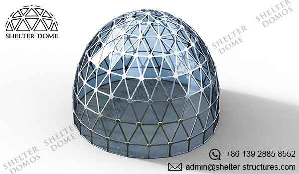 geodesic greenhouse dome polycarbonate - garden geodome for sale - aluminum growing domes 2