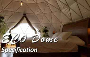 Shelter Eco Dome Tent for Sale - Geodesic Glamping Tent Package for Resort, Campsite, Hotel, Summer Camp