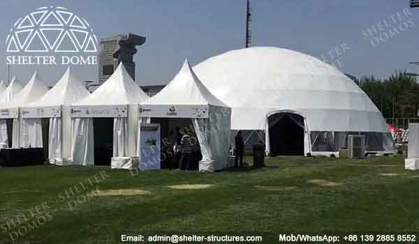 65ft Dome Shade Structure For Exhibition Event Dome