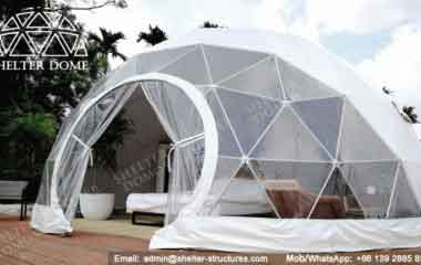 4 Glamping Domes Served As Eco Luxury Hotel Rooms