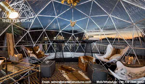Igloo Bar in Sydney - Small Geodesic Dome for Sale - Pop Up Dome Tent - Igloo Bars - Igloo Domes - Shelter Dome (3)