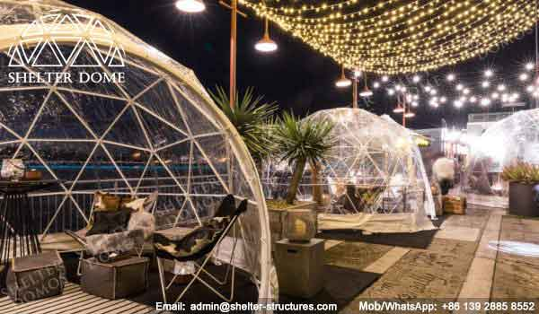 Igloo Bar in Sydney - Small Geodesic Dome for Sale - Pop Up Dome Tent - Igloo Bars - Igloo Domes - Shelter Dome (4)
