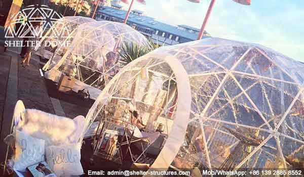 Igloo Bar in Sydney - Small Geodesic Dome for Sale - Pop Up Dome Tent - Igloo Bars - Igloo Domes - Shelter Dome (5)