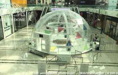 Clear Dome Tent - 12m Transparent Dome Tent for Event in Qatar - Clear Roof Geodesic Dome for Sale - Shelter Dome (8)