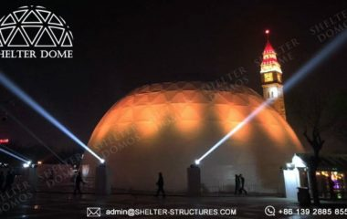 Shelter 360 Projection Dome - Dia. 30 Spherical Projection Equipment for Sale - Dome Tent Cinema in Carnival 16