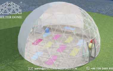 5m 10m 15m yoga dome with bay window - geodesic gym tent for sports center, backyard, ecocamp, hotel (3)