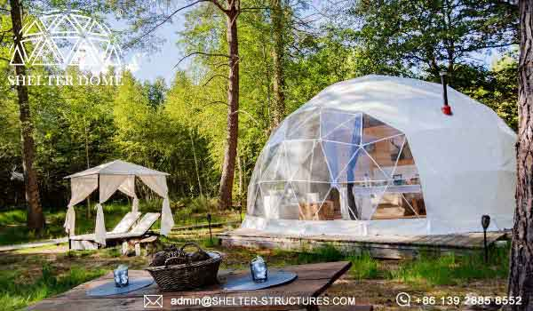 7m Glamping Dome Suite For Sale Geodome Tents For