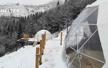 Glamping Domes With Hot Tub In The Caucasus Mountain-Shelter Dome-ecoresort-Shelter Domos (3)