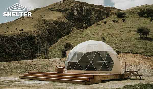 Glamping dome tent provides hotel-like comfort-glamping dome-Shelter Dome-1