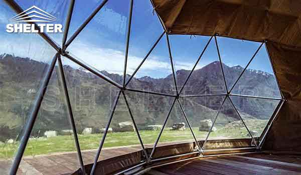 Glamping dome tent provides hotel-like comfort-glamping dome-Shelter Dome-2