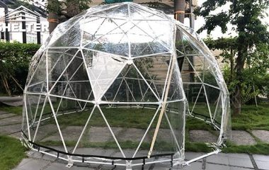 4m Transparent Dome — Social Distancing Solution 1