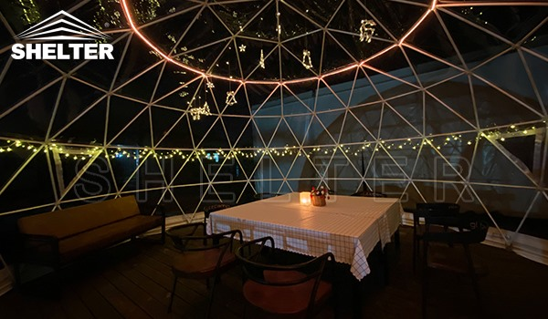 outdoor dining igloo - igloo restaurant - outdoor igloo for sales